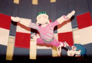 melissa lowe indoor skydiving at age 8